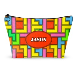 Tetris Print Makeup Bags (Personalized)
