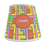 Tetris Print Empire Lamp Shade (Personalized)