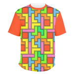 Tetromino Men's Crew T-Shirt (Personalized)