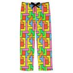 Tetromino Mens Pajama Pants (Personalized)