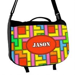 Tetromino Messenger Bag (Personalized)