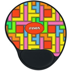 Tetromino Mouse Pad with Wrist Support