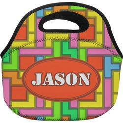 Tetris Print Lunch Bag (Personalized)