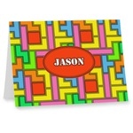 Tetromino Note cards (Personalized)