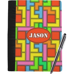 Tetris Print Notebook Padfolio (Personalized)