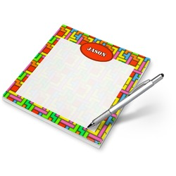 Tetromino Notepad (Personalized)