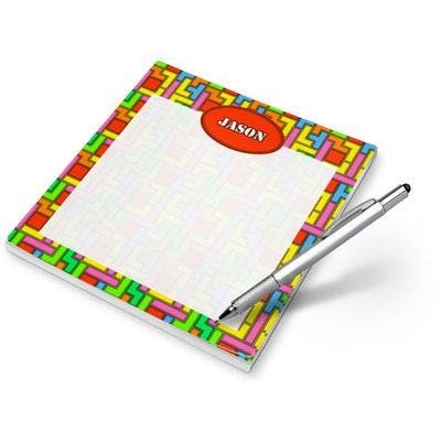 Tetromino Notepad (Personalized)