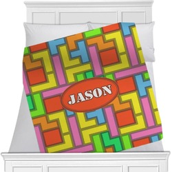 Tetris Print Blanket (Personalized)