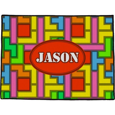 Tetris Print Door Mat (Personalized)