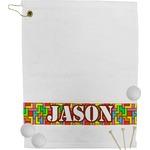 Tetris Print Golf Towel (Personalized)