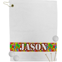 Tetromino Golf Towel (Personalized)