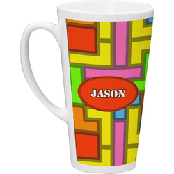 Tetromino Latte Mug (Personalized)