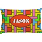 Tetris Print Pillow Case (Personalized)