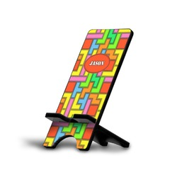 Tetris Print Cell Phone Stands (Personalized)