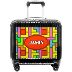 Tetris Print Pilot / Flight Suitcase (Personalized)