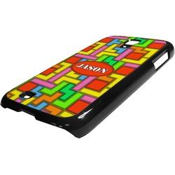 Tetris Print Plastic Samsung Galaxy 4 Phone Case (Personalized)