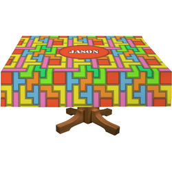 Tetris Print Tablecloth (Personalized)