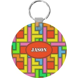 Tetris Print Keychains - FRP (Personalized)
