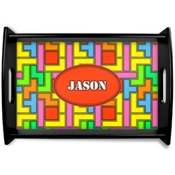 Tetris Print Wooden Trays (Personalized)