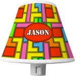Tetris Print Shade Night Light (Personalized)