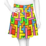 Tetromino Skater Skirt (Personalized)