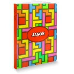 Tetromino Softbound Notebook (Personalized)