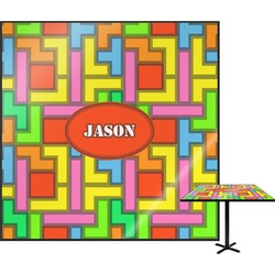 Tetris Print Square Table Top (Personalized)
