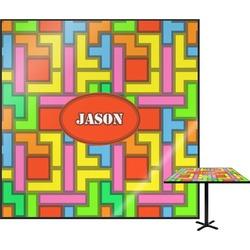 Tetris Print Square Table Top (Personalized)