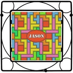 Tetris Print Square Trivet (Personalized)