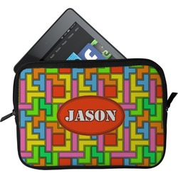 Tetris Print Tablet Case / Sleeve (Personalized)