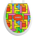 Tetromino Toilet Seat Decal (Personalized)