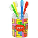 Tetromino Toothbrush Holder (Personalized)