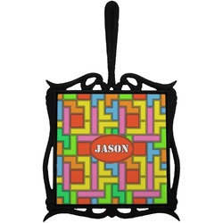 Tetris Print Trivet with Handle (Personalized)