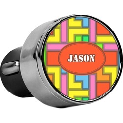 Tetromino USB Car Charger (Personalized)