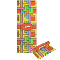 Tetris Print Yoga Mat - Printable Front and Back (Personalized)