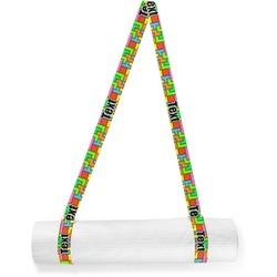 Tetromino Yoga Mat Strap (Personalized)