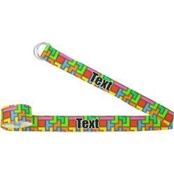 Tetris Print Yoga Strap (Personalized)
