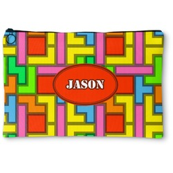 Tetromino Zipper Pouch (Personalized)