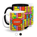 Tetromino Coffee Mugs (Personalized)