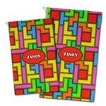 Tetromino Golf Towel - Full Print w/ Name or Text