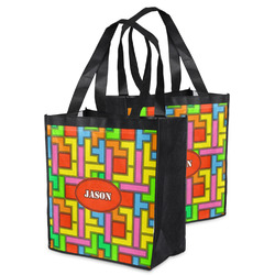 Tetromino Grocery Bag (Personalized)