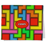 Tetromino Kitchen Towel - Full Print (Personalized)