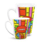 Tetromino Latte Mug (Personalized)