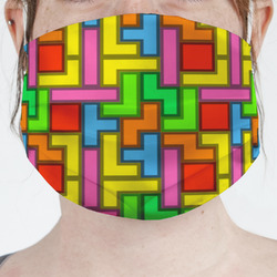 Tetromino Face Mask Cover (Personalized)
