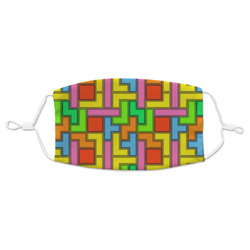 Tetromino Adult Cloth Face Mask (Personalized)