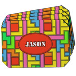 Tetromino Dining Table Mat - Octagon w/ Name or Text