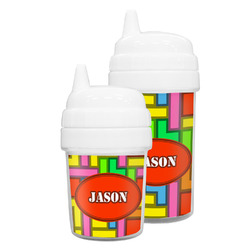 Tetromino Sippy Cup (Personalized)