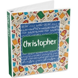 Math Lesson 3-Ring Binder (Personalized)
