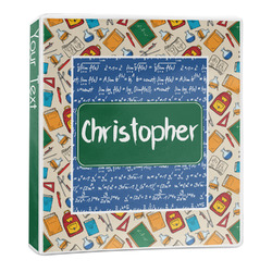 Math Lesson 3-Ring Binder - 1 inch (Personalized)