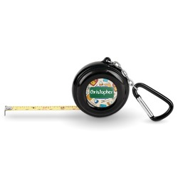 Math Lesson Pocket Tape Measure - 6 Ft w/ Carabiner Clip (Personalized)